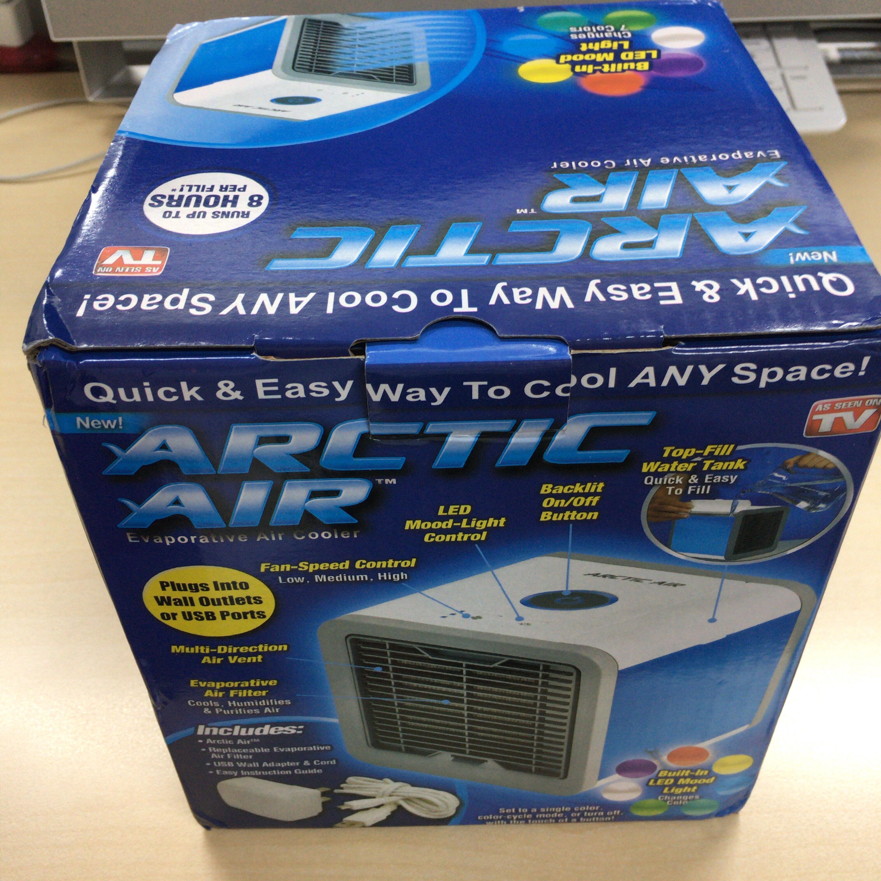 COMLIFE冷風機の外箱
