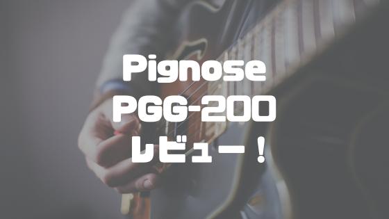 Pignose(ピグノーズ)PGG-200レビュー!