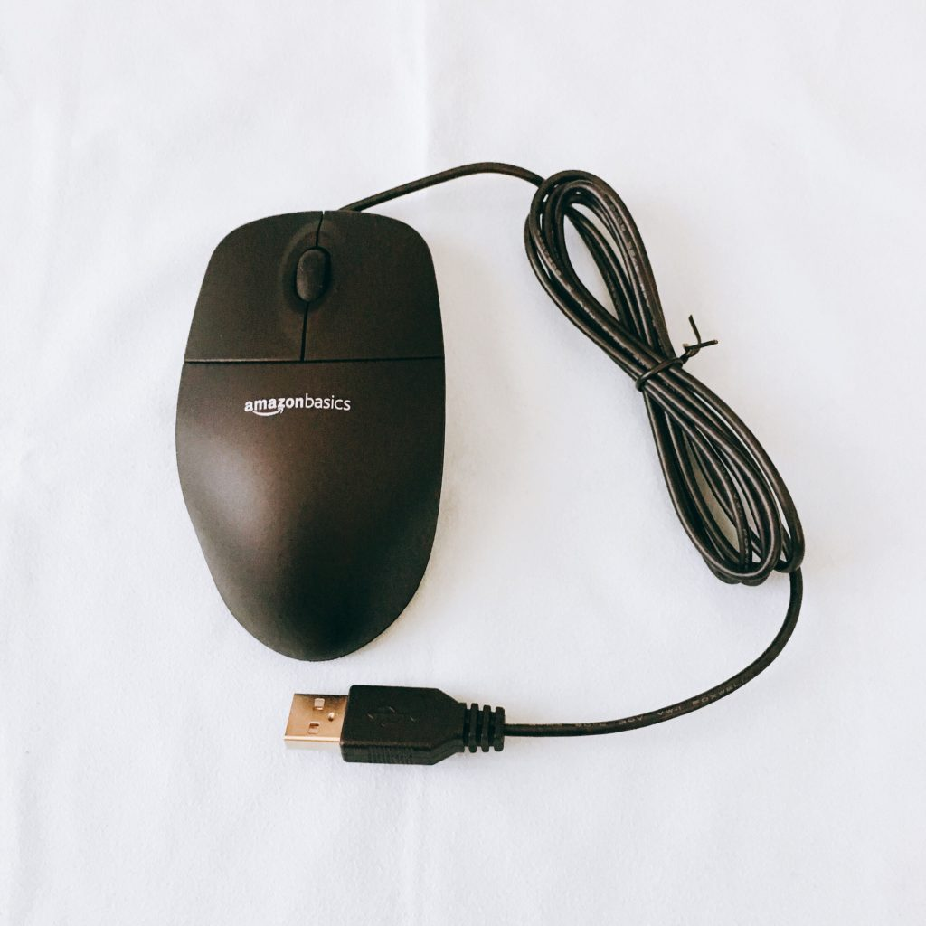 Amazonベーシック USBマウス