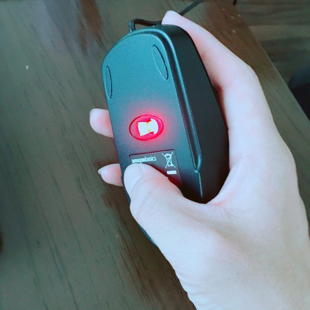Amazonベーシック USBマウス 光学式タイプ