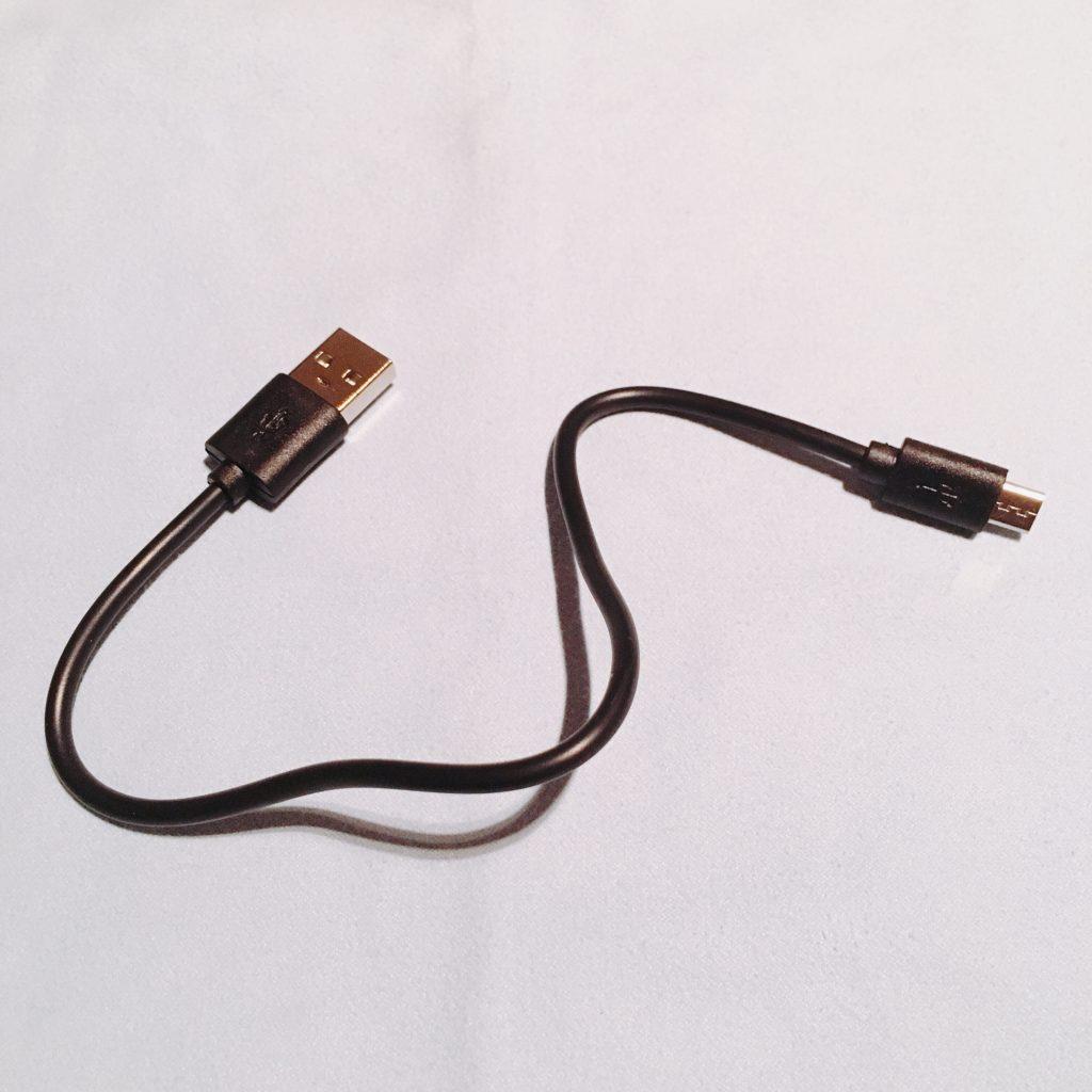 iKanziのTWS-X9付属品USBケーブル
