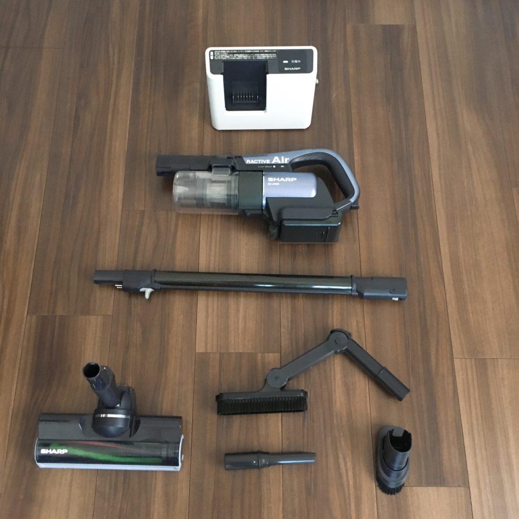 EC-AR2Sの本体と付属品