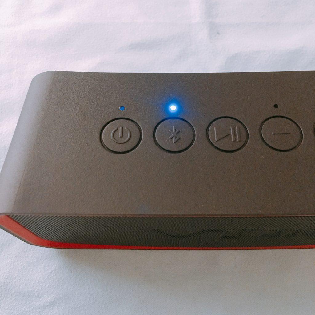 VTIN 防水BluetoothスピーカーBH172Aペアリング完了