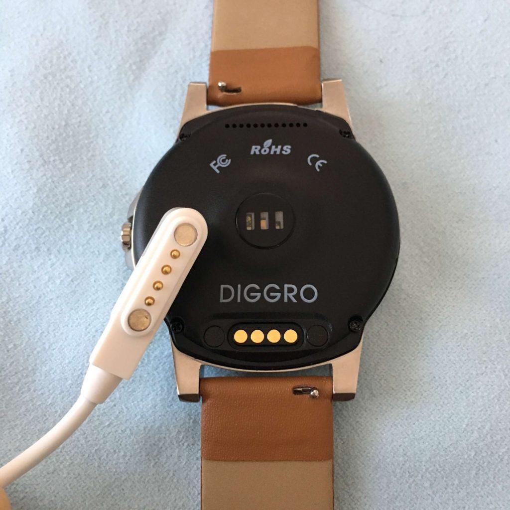 Diggro DI03 Plusの端子とケーブル