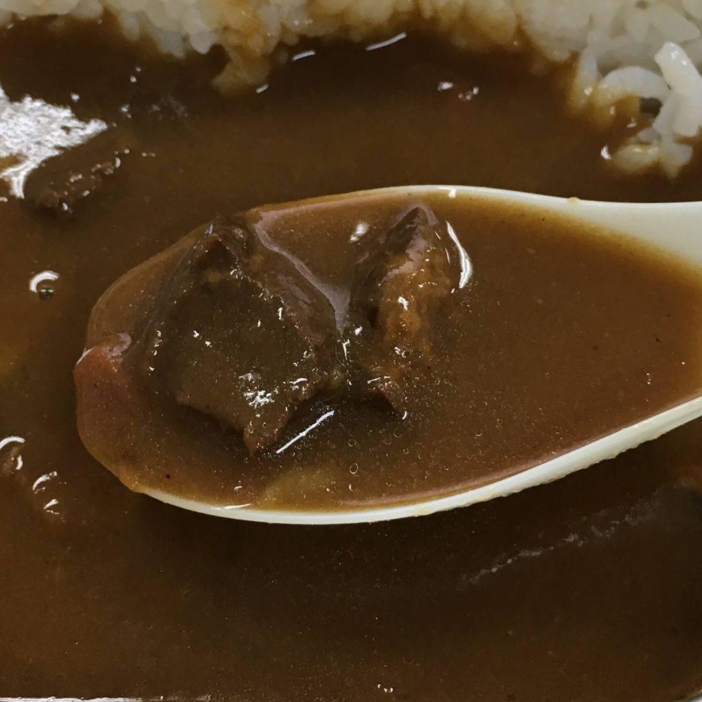 レスキューフーズ 一食ボックス カレーライスの具材②