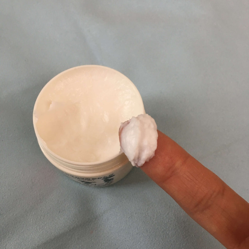 かかとつるつるクリームの使い方①