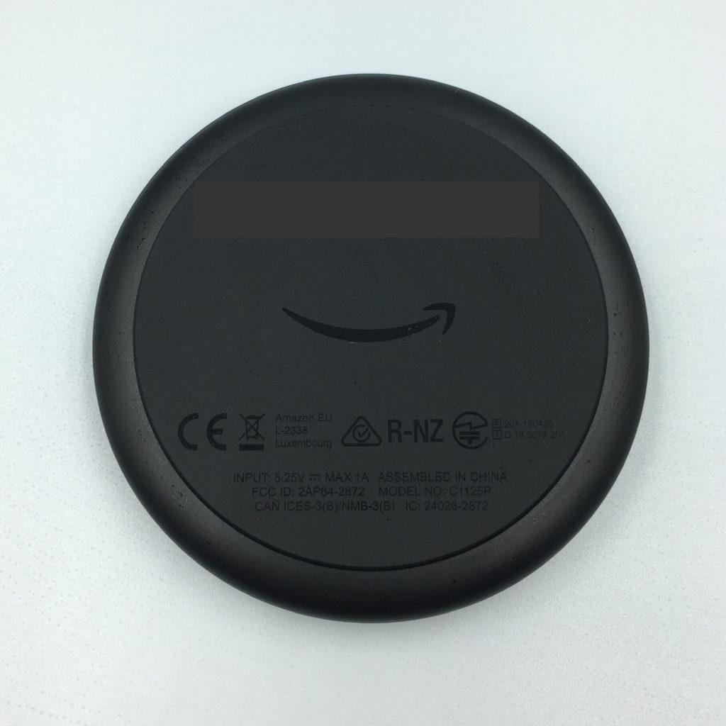 Amzon Echo Inputの外観③