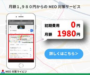 MEO対策サービス マイビジ