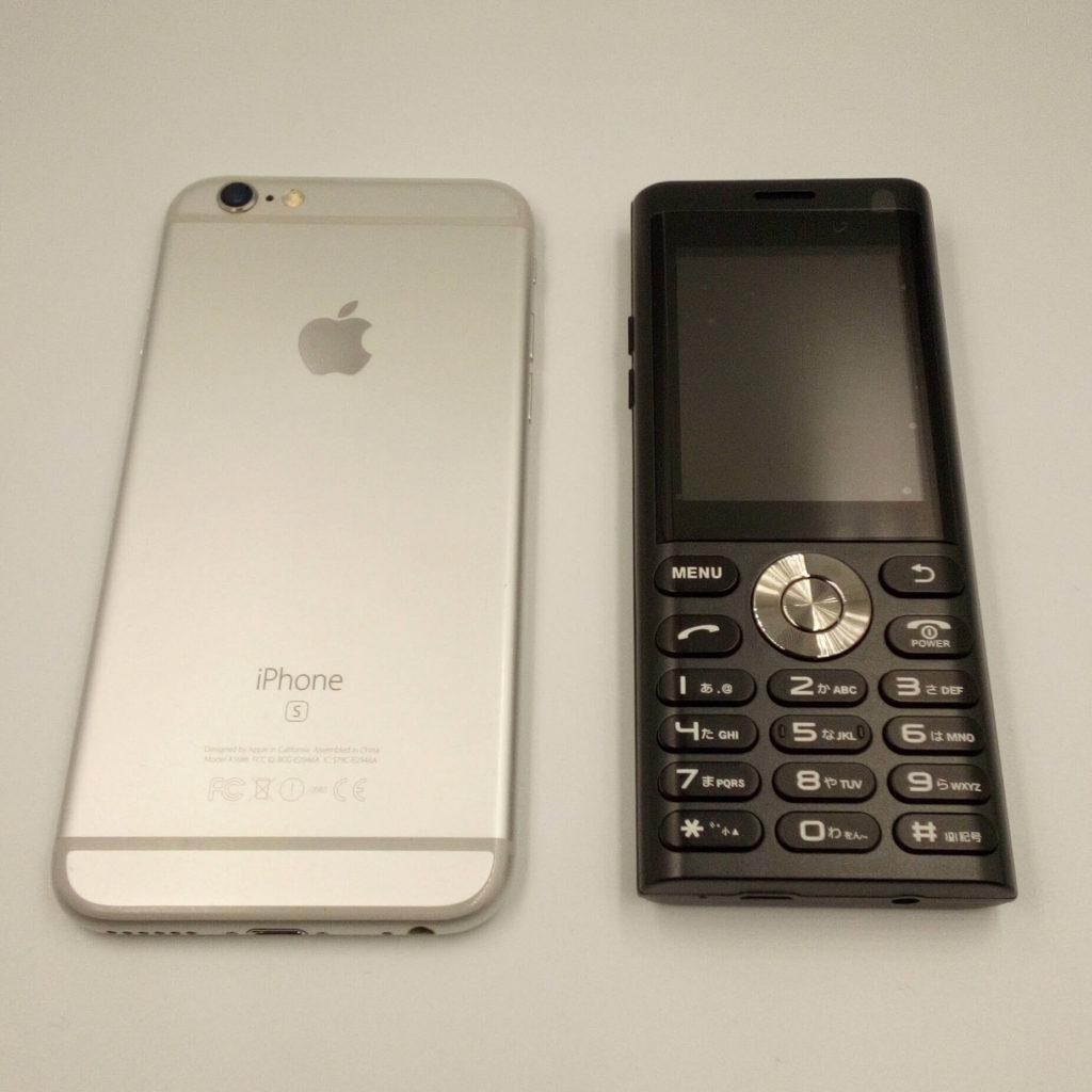 un.mode phone01とiPhone 6s①