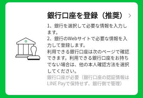 LINE Payの本人確認方法②