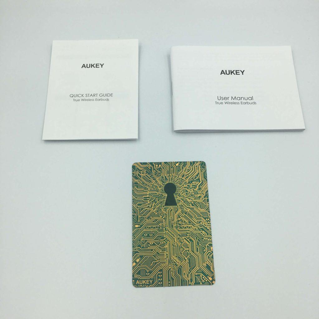 AKEY EP-T10の付属品①