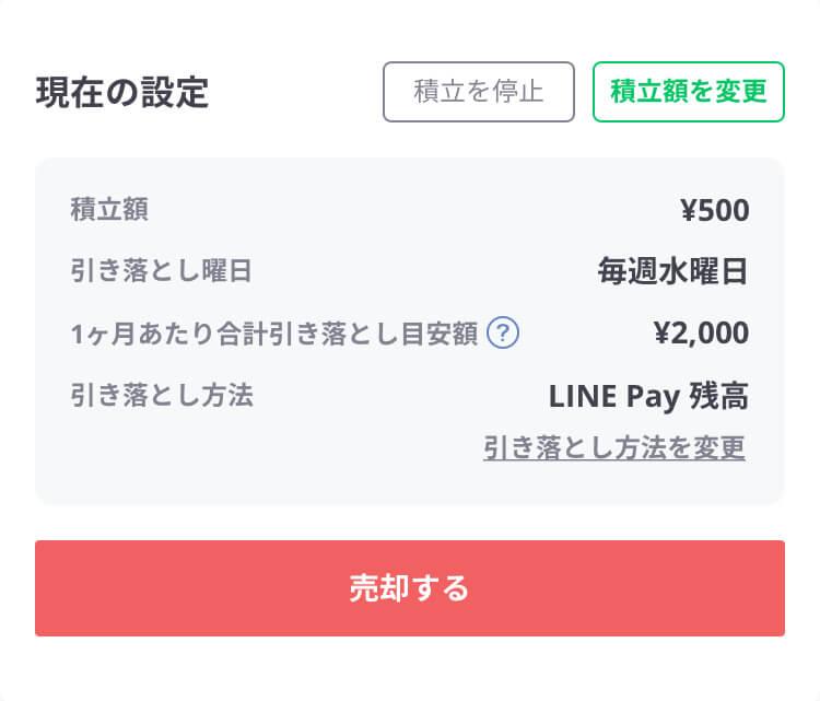 ワンコイン投資マイメニュー⑤