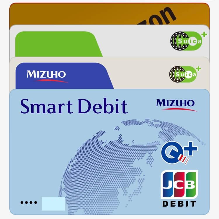 Apple Payに登録したSmart Debit