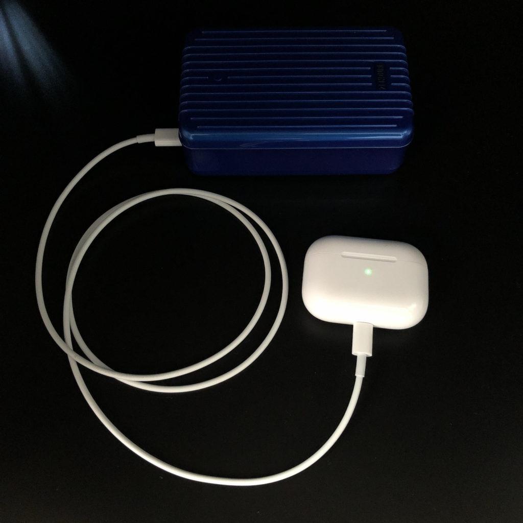AirPods PriはUSB-Type Cで高速充電可能