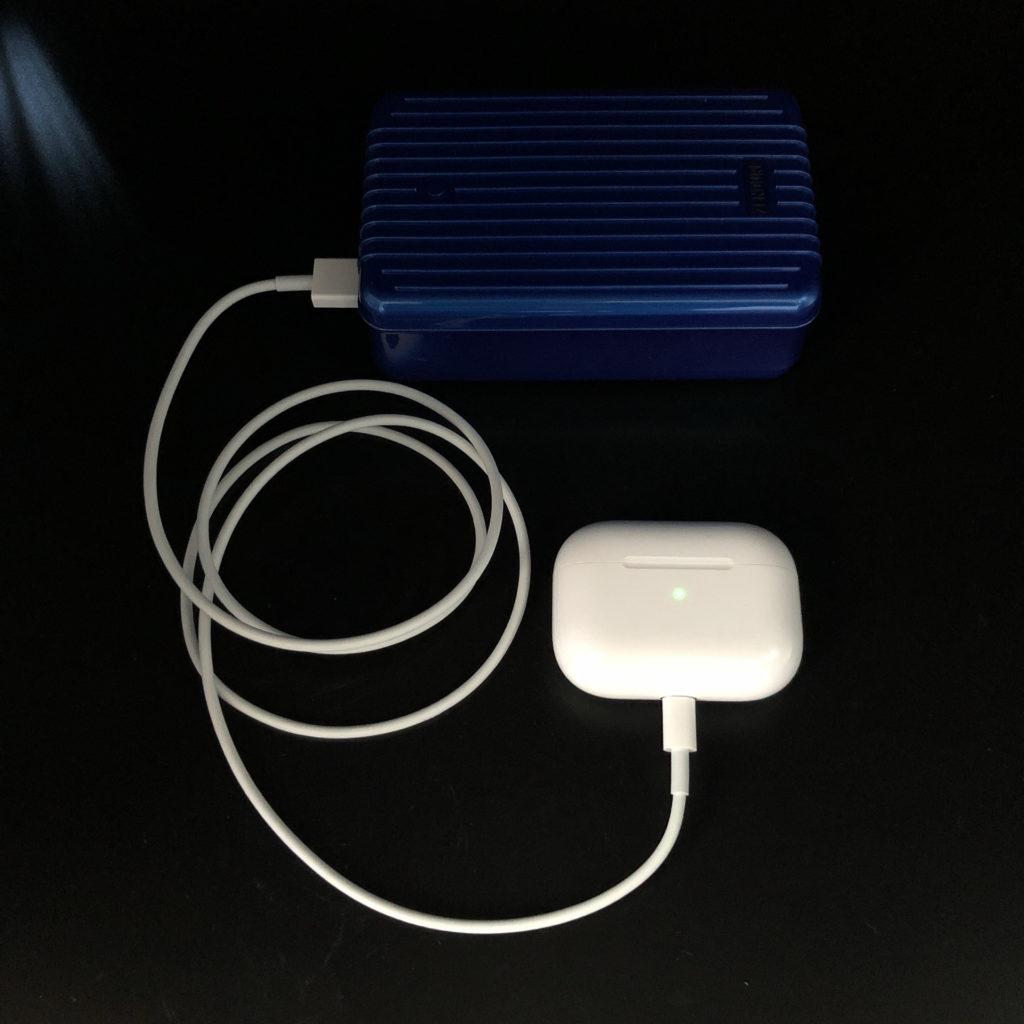AirPods ProはUSB Type-Aでも充電できる
