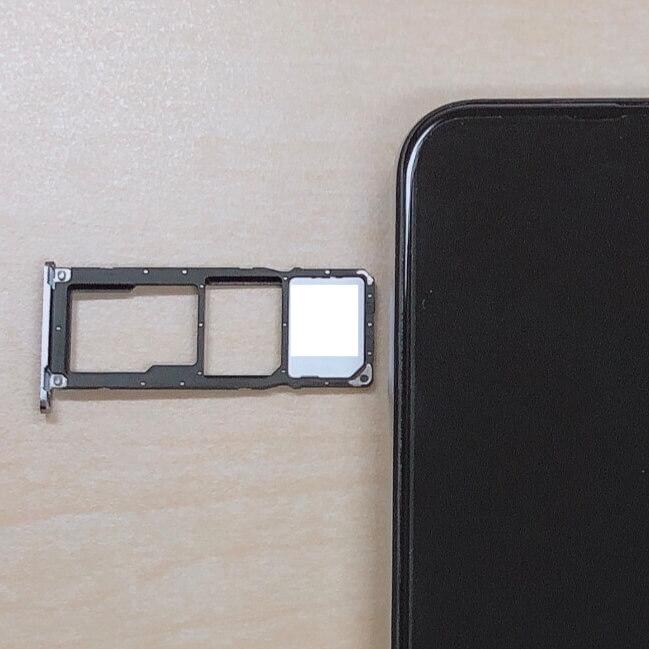 UMIDIGI A5 ProにLINEモバイルのSIMカードを設置
