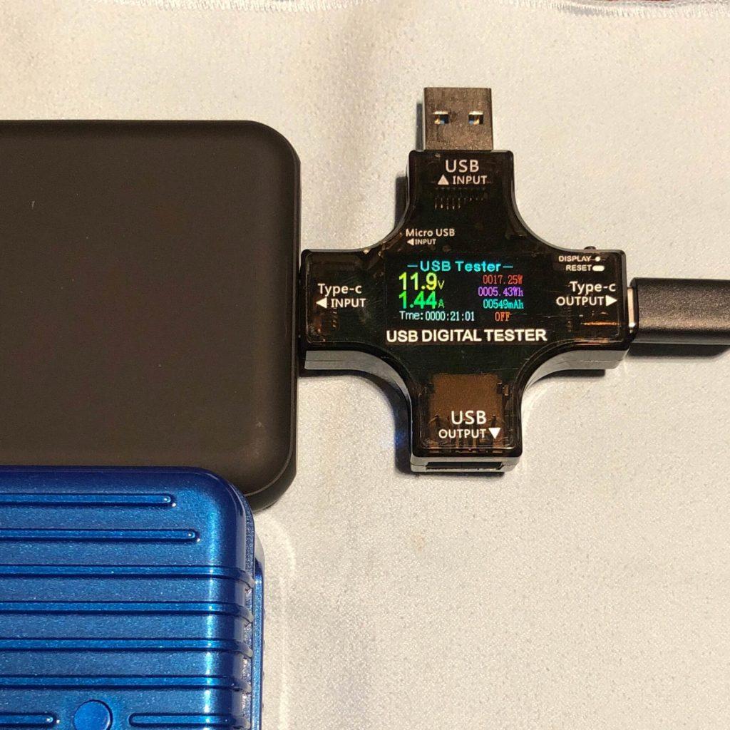 BMB-Qi10のバッテリー性能②