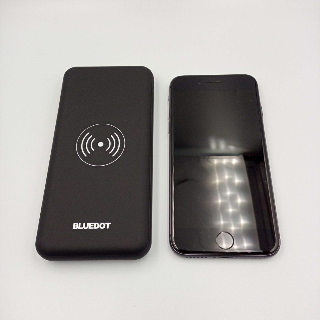 BMB-Qi10とiPhone 8