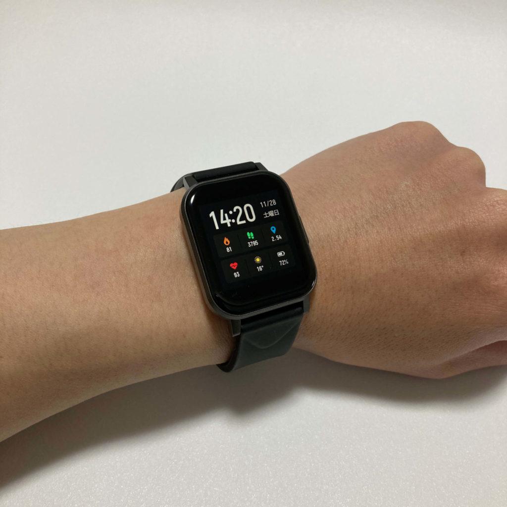 Watch 1はデザインも秀逸