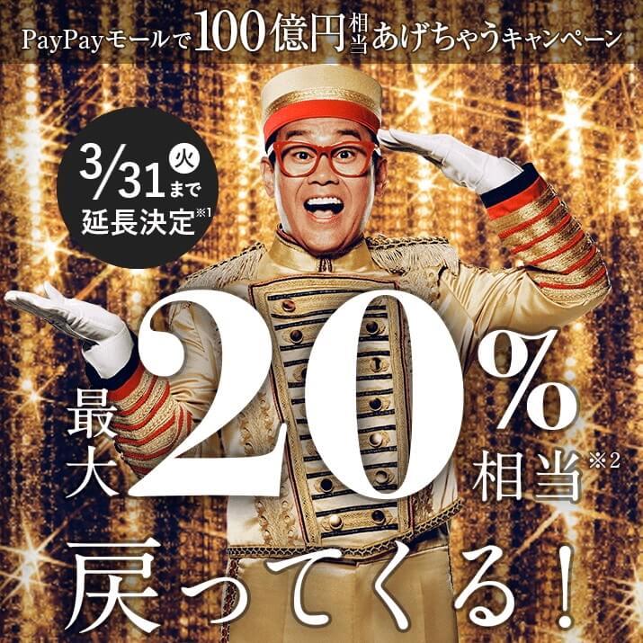 PayPayモール100億円キャンペーン