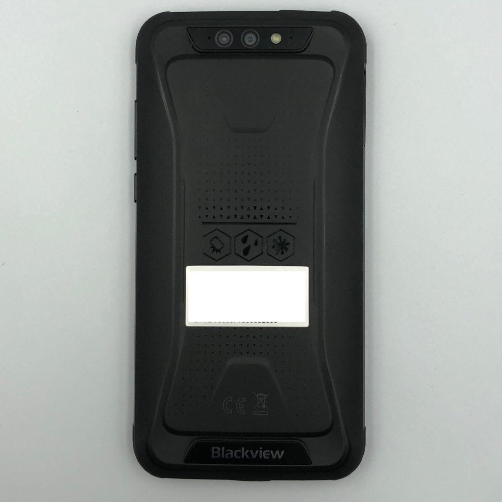 BV5500 Proの背面