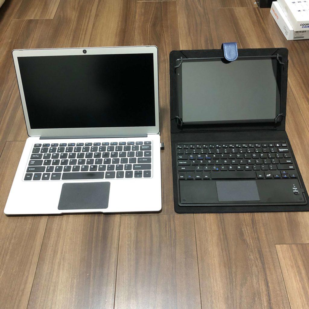 P10HDとノートパソコンの比較