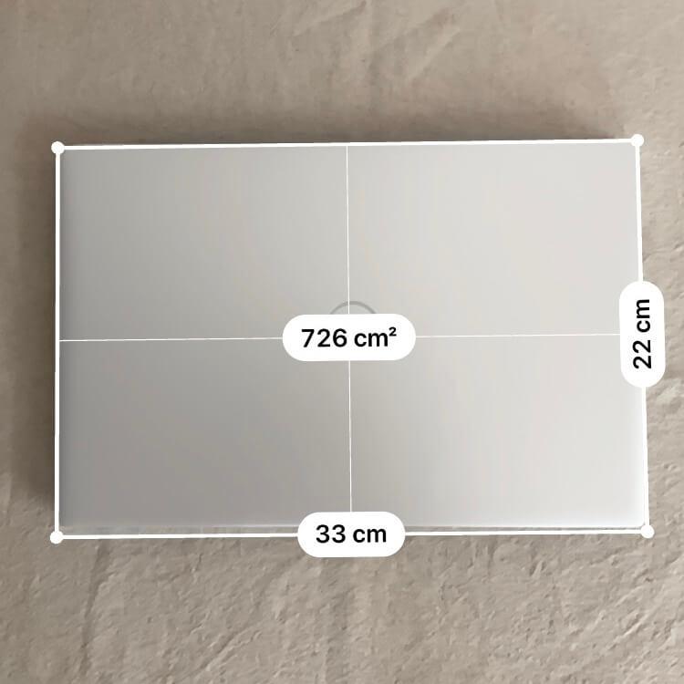Inspiron 5490のサイズ