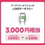 LINEモバイルロックの日キャンペーン(LINEデータフリー))