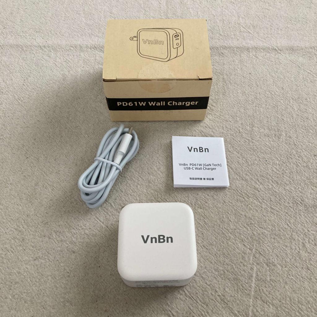 VnBnの付属品