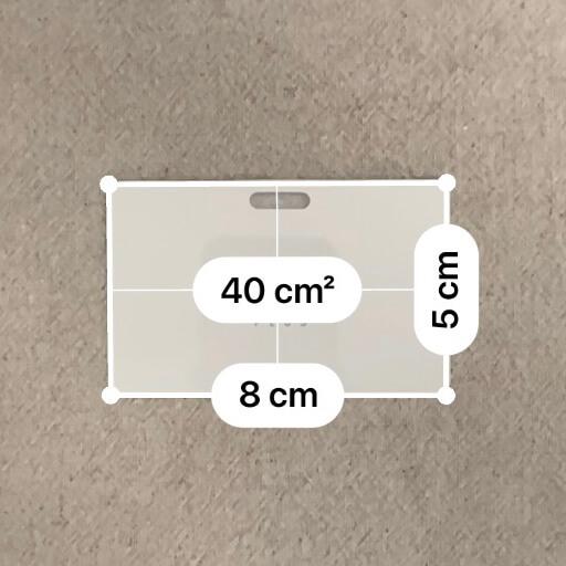 イオニアカードPLUSのサイズ