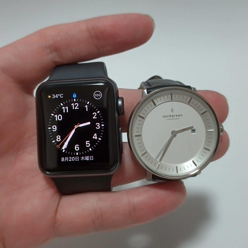 PhilosopherとApple Watchの比較