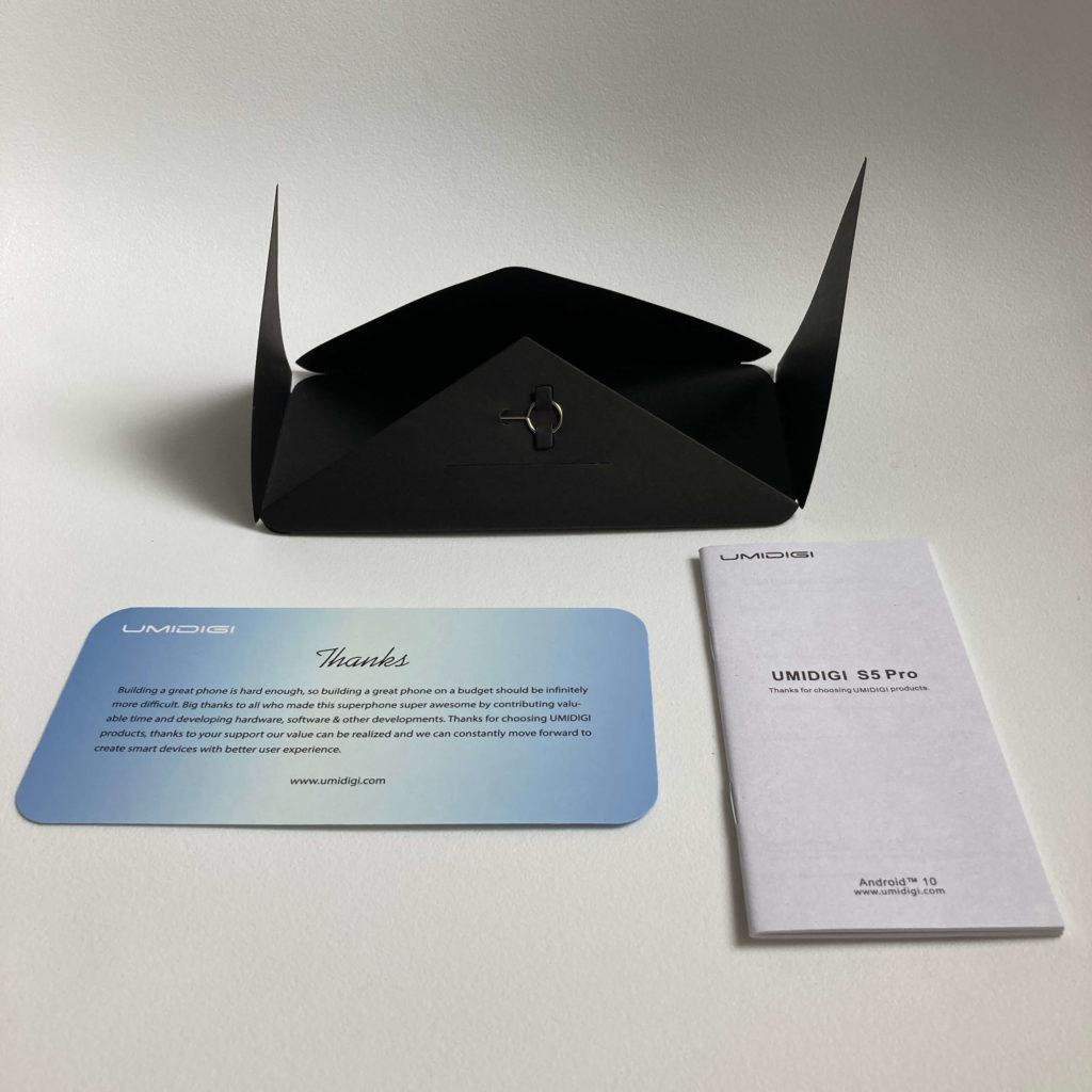 UMIDIGI S5 Proのマニュアル