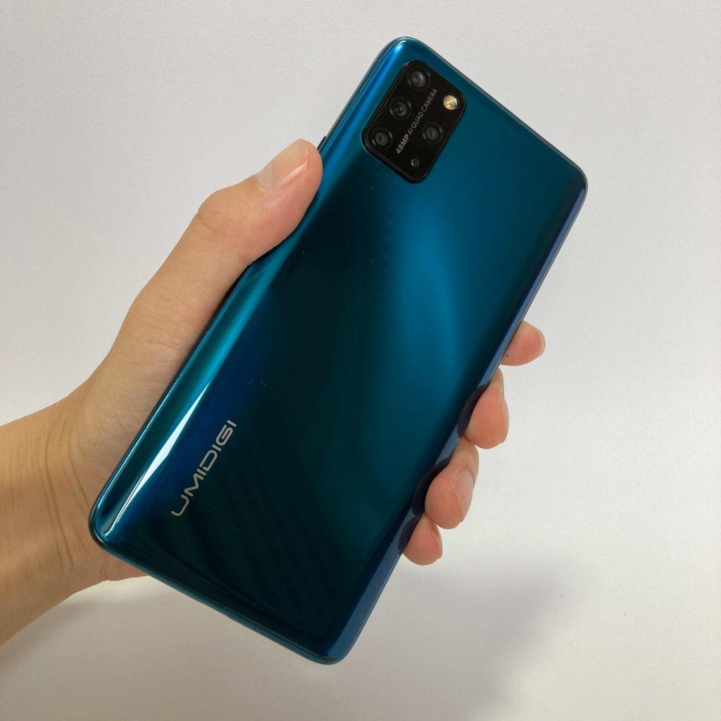 UMIDIGI S5 Proのサイズ感