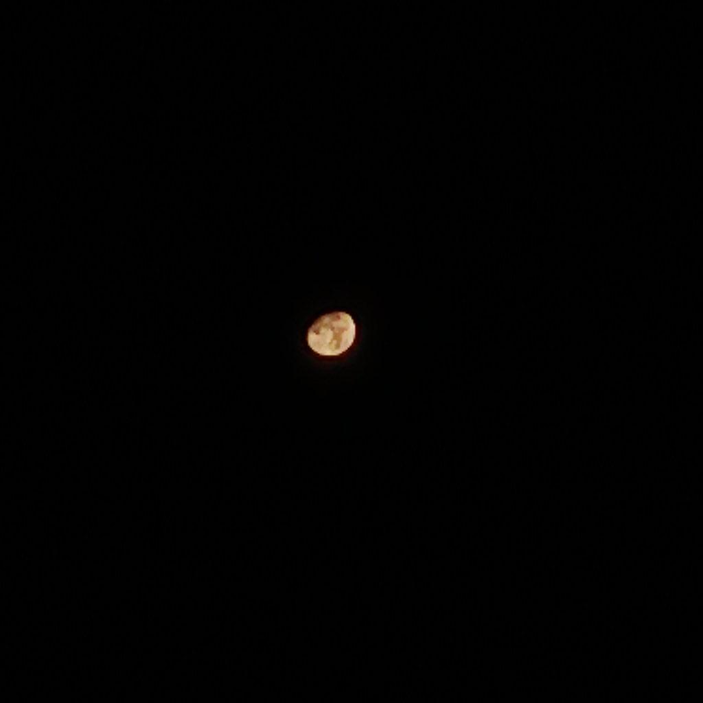 UMIDIGI S5 Proで撮影した月