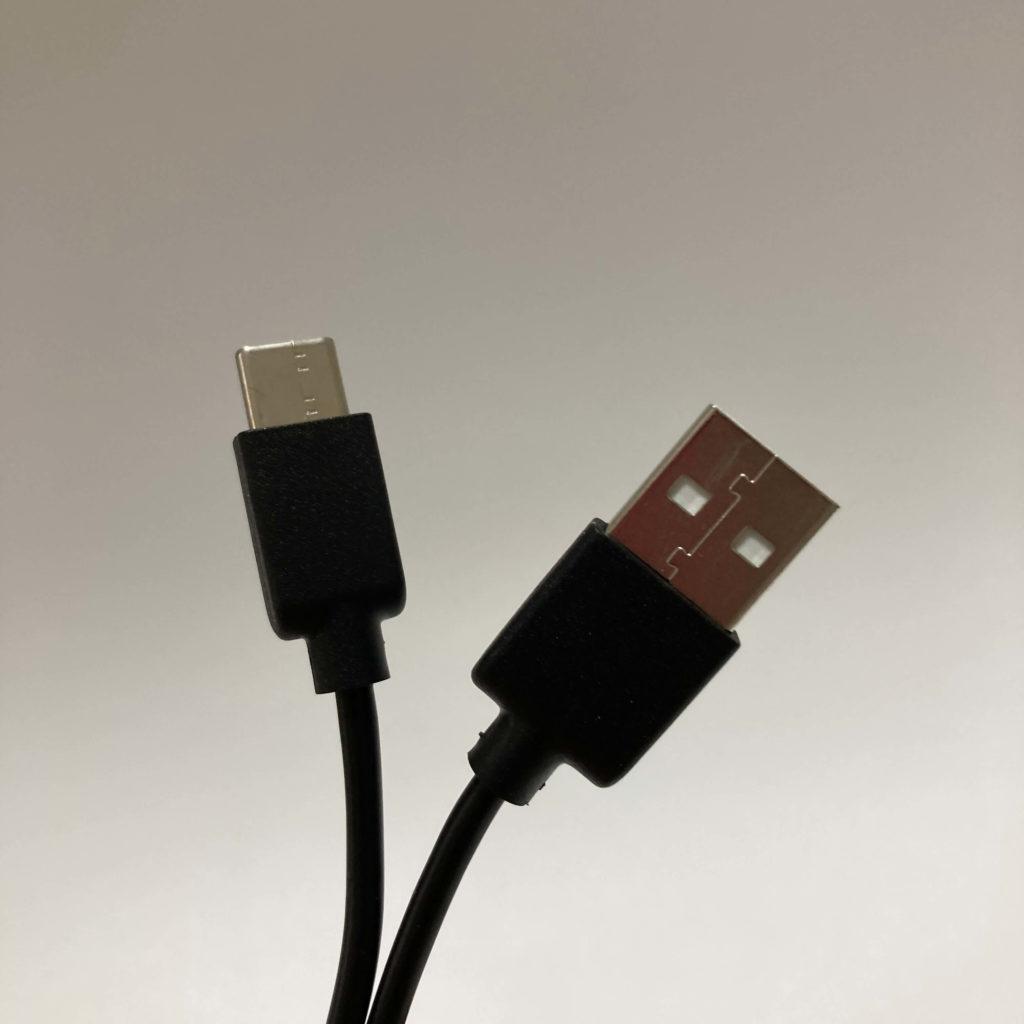 ANC-860付属の充電ケーブル