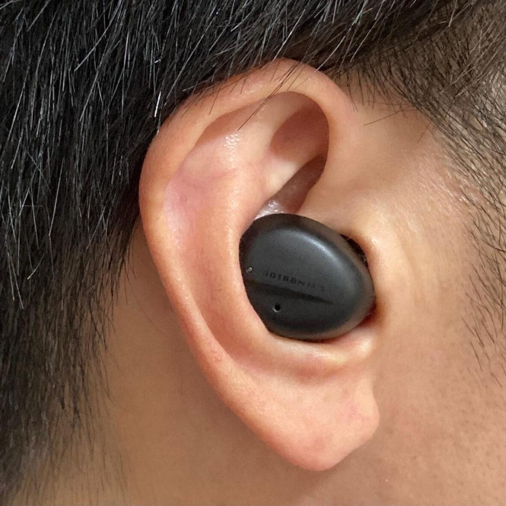SoundLiberty94は耳にフィット