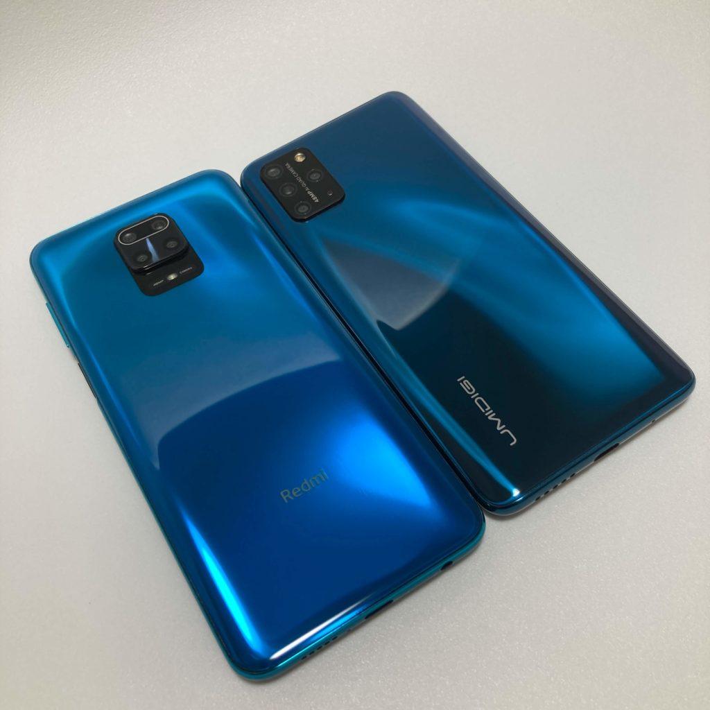 UMIDIGI S5 ProとRedmi Note 9Sを比較