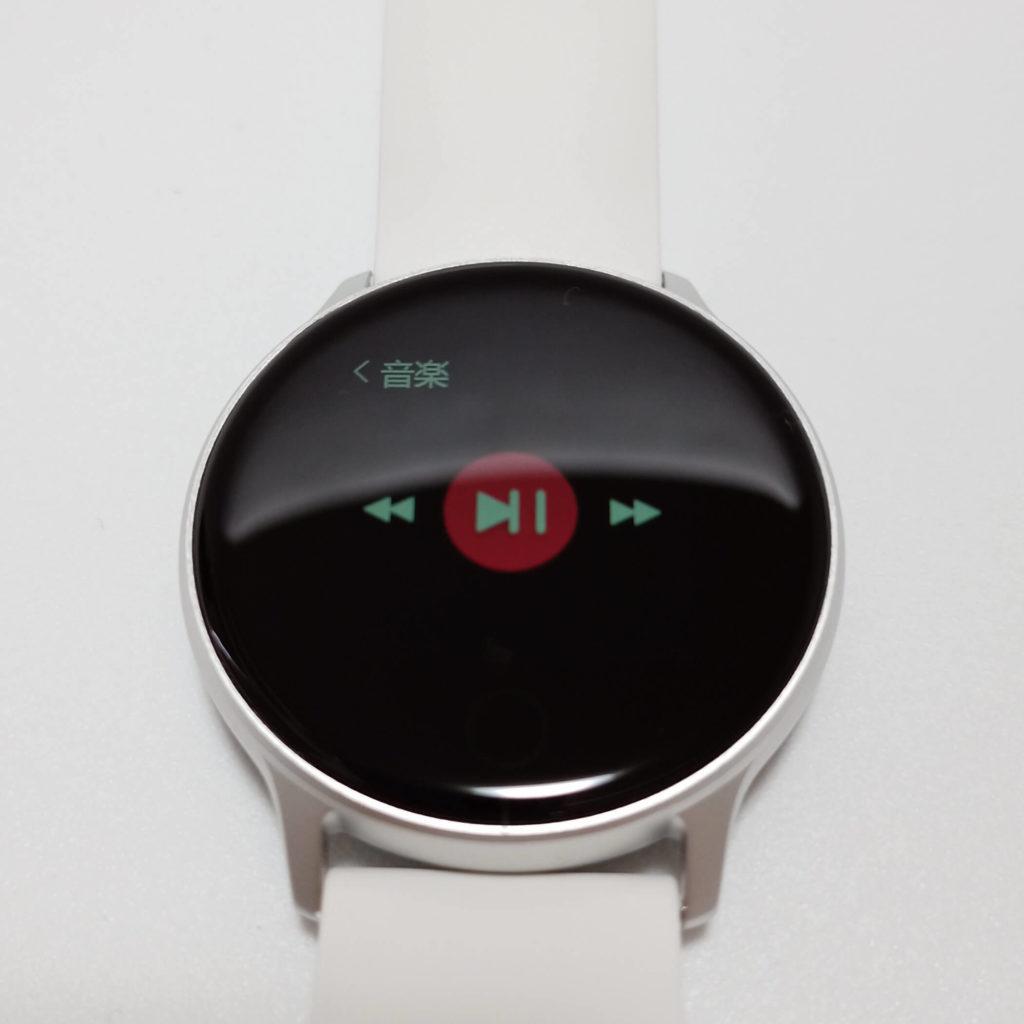 Uwatch 2Sの音楽アプリリモコン