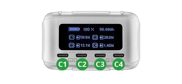 SuperTank ProのUSBポート