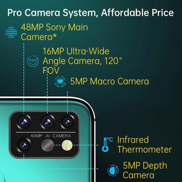 UMIDIGI A9 Proのカメラ