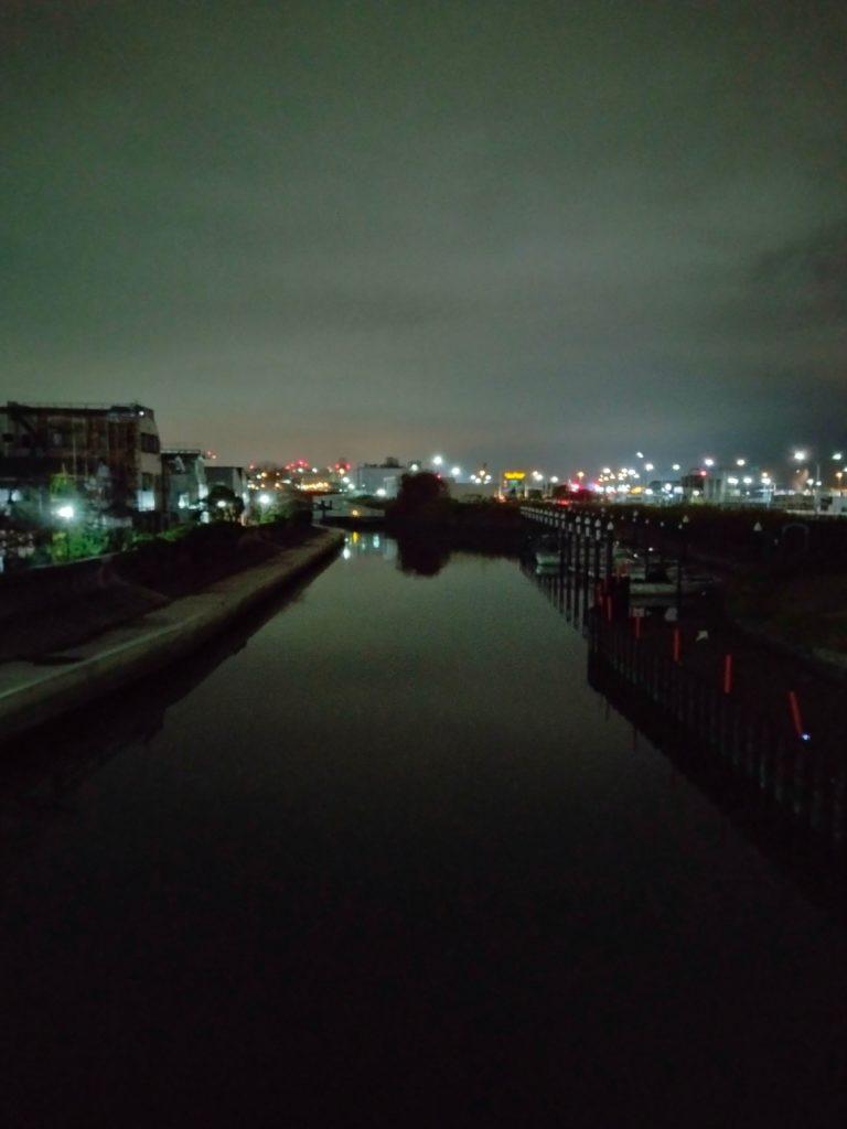 夜景モードで撮影