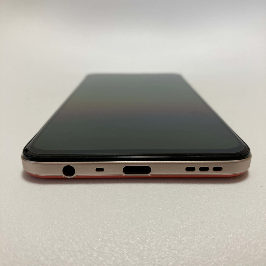 OPPO A73の底面