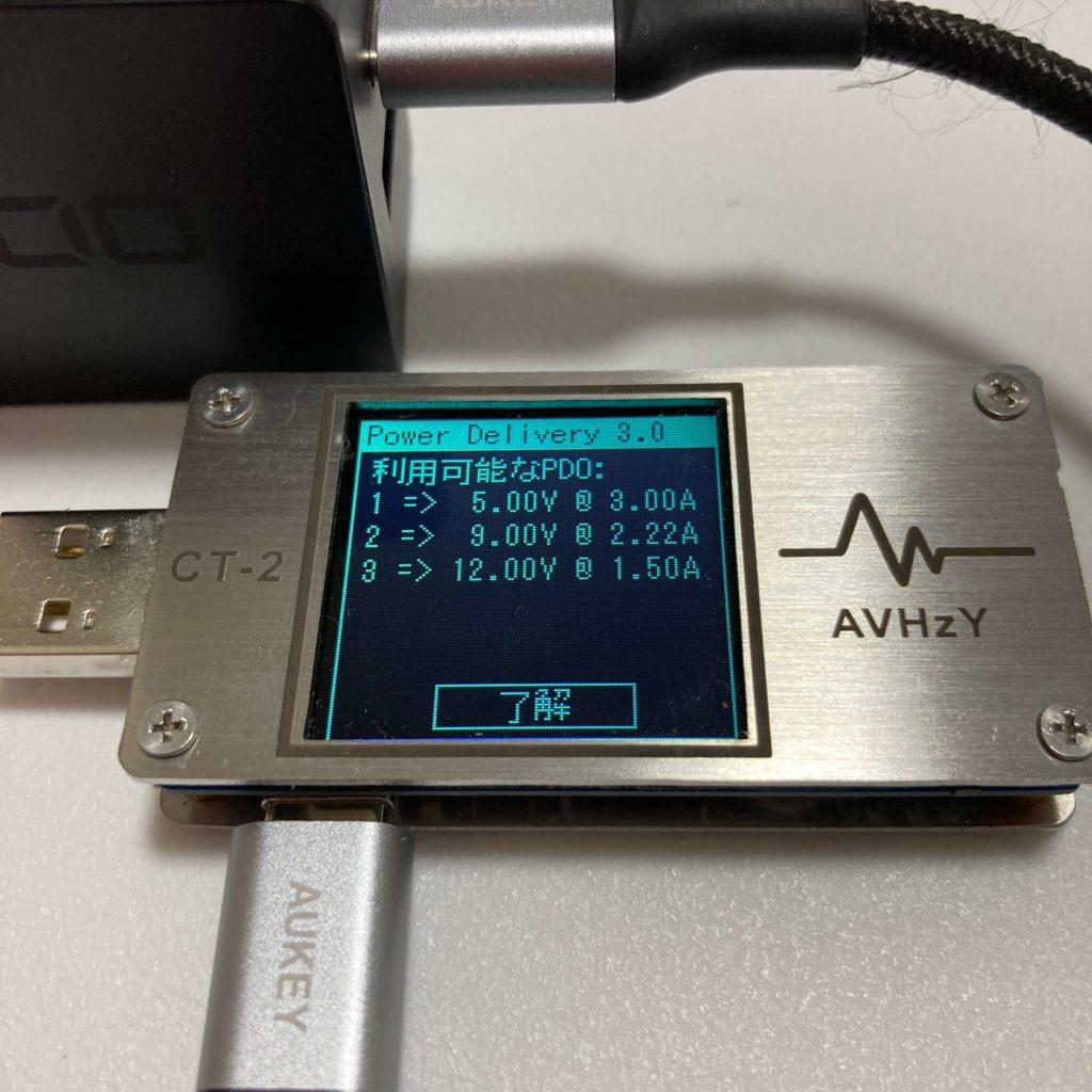 PDQV20W2のPDO