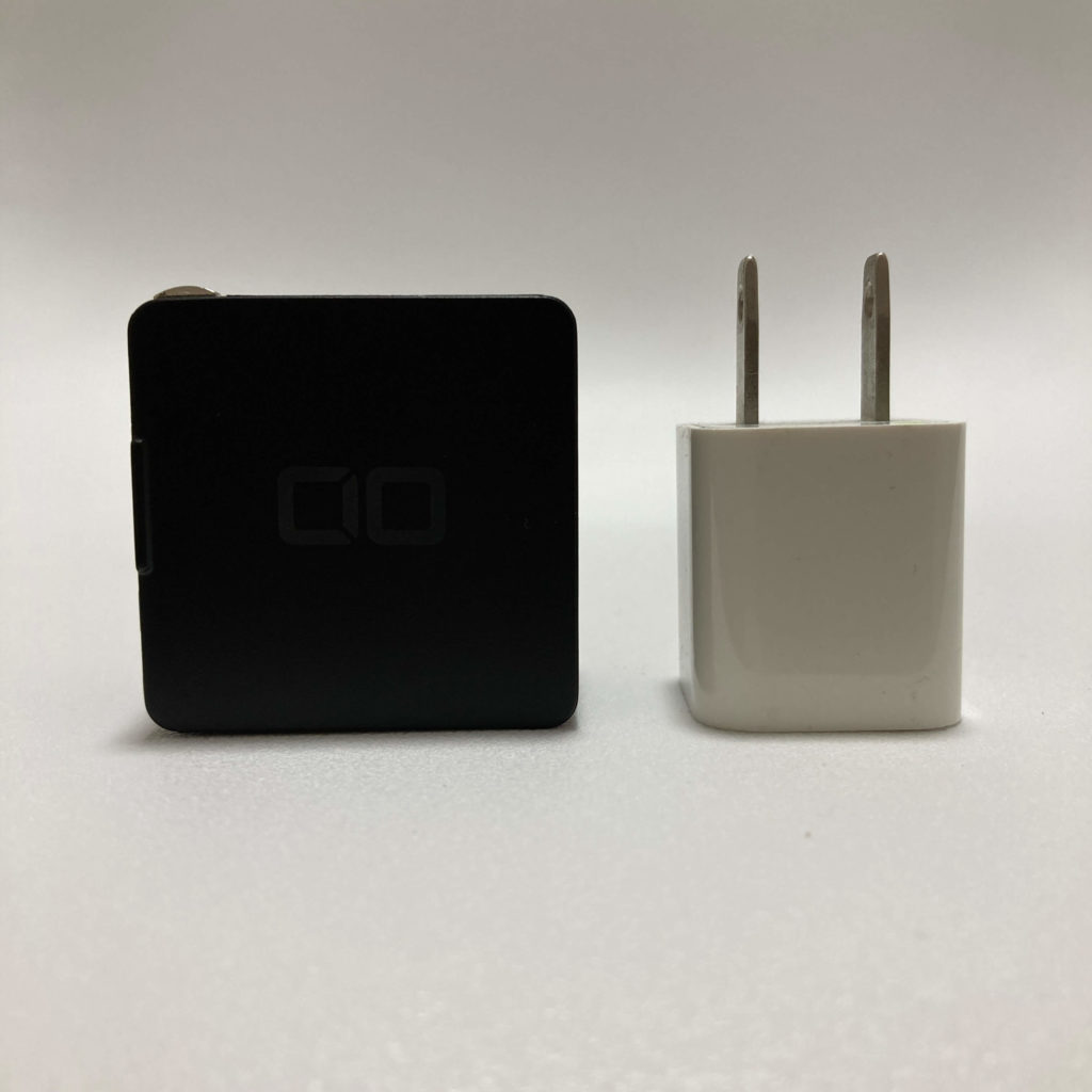 PDQC20W2とiPhoneの充電器