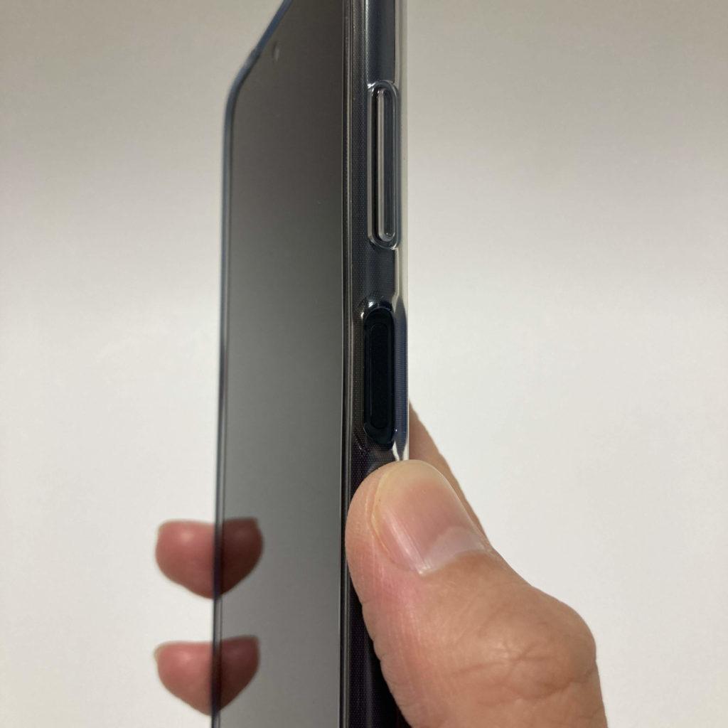 POCO X3 NFCの指紋センサー