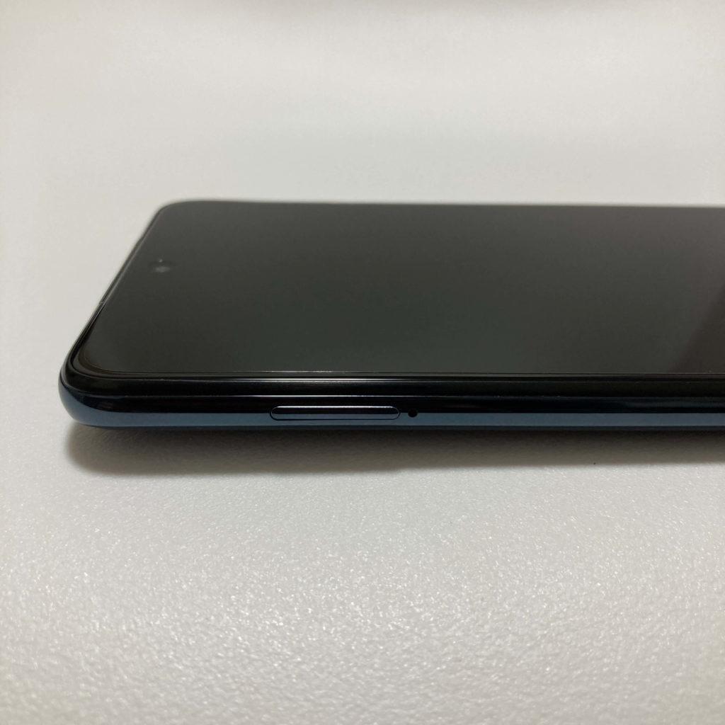 POCO X3 NFCの左側面