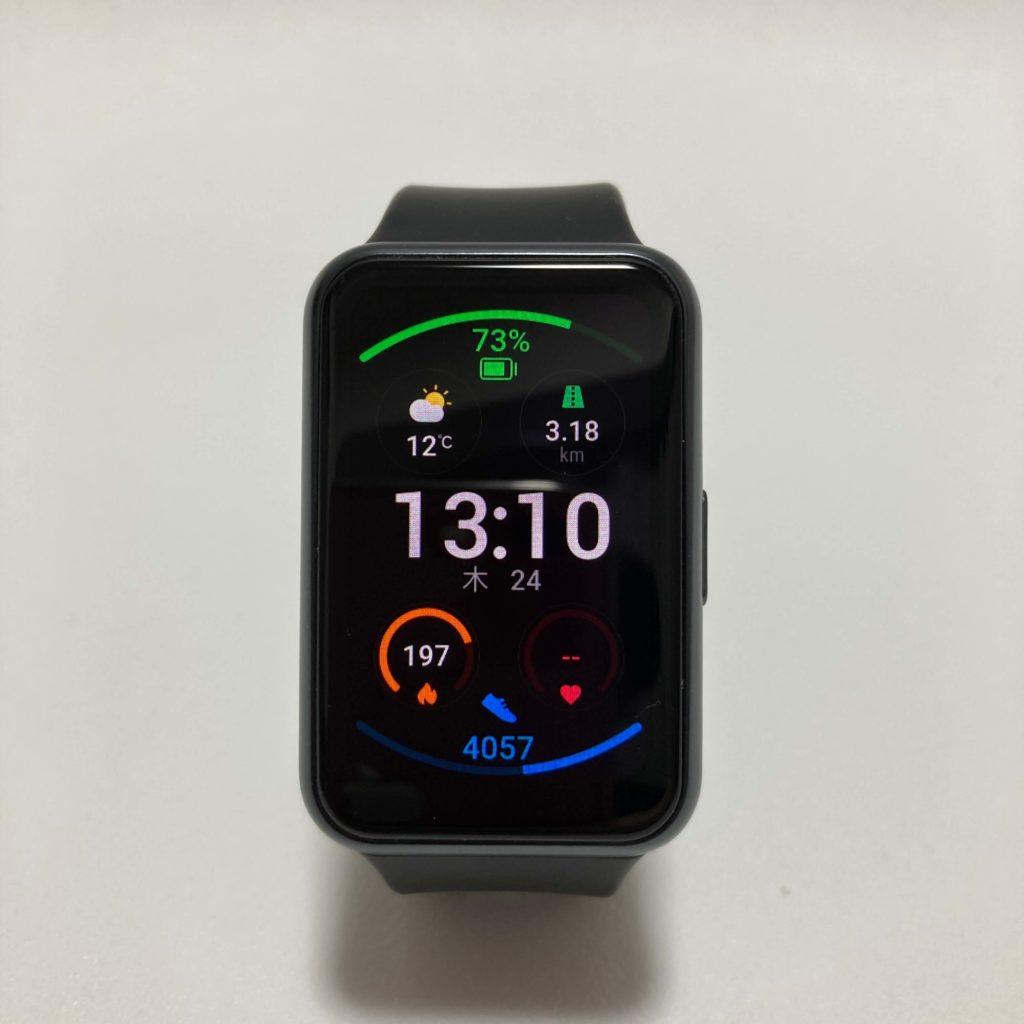 HUAWEI Watch FITの文字盤