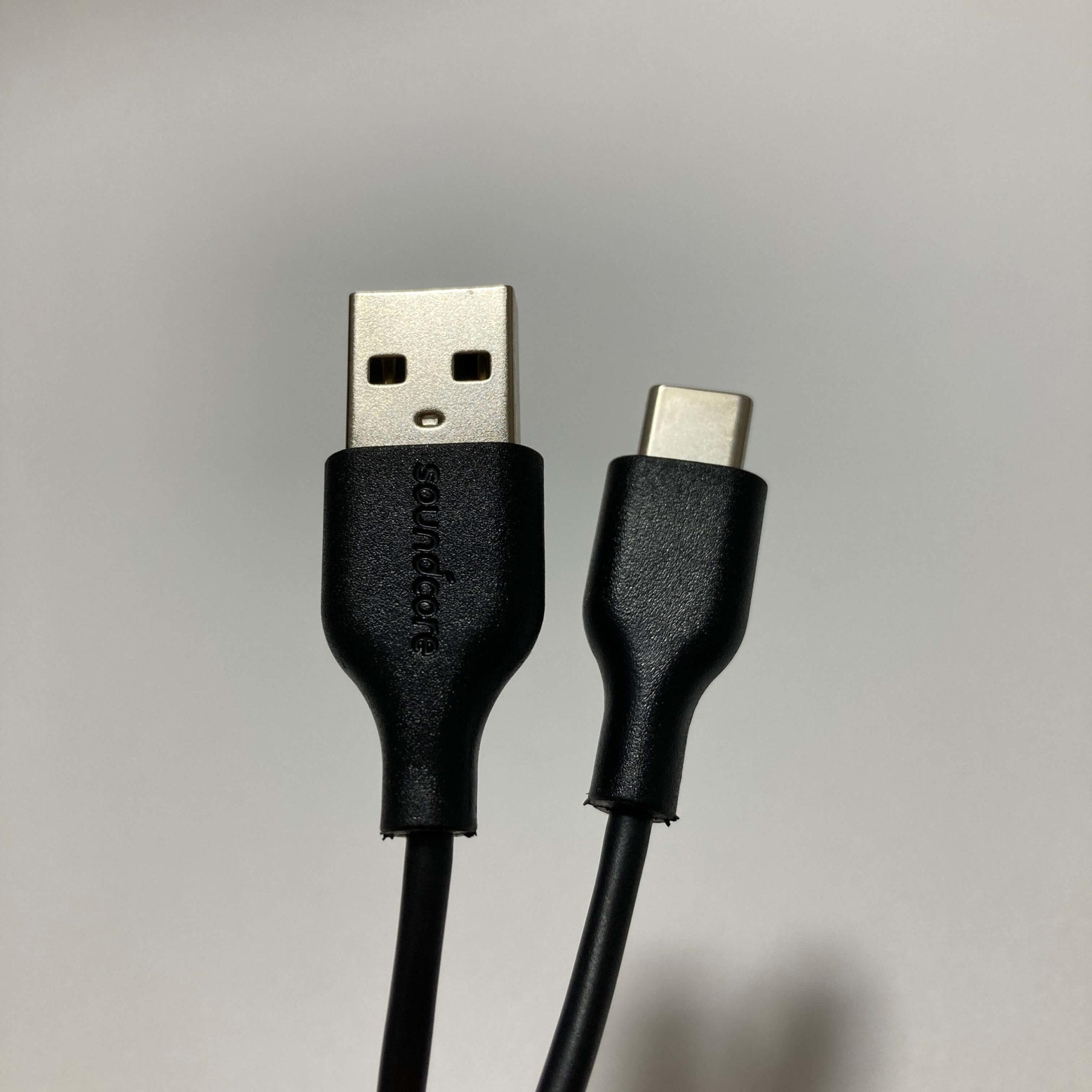 Life Q30の充電ケーブル