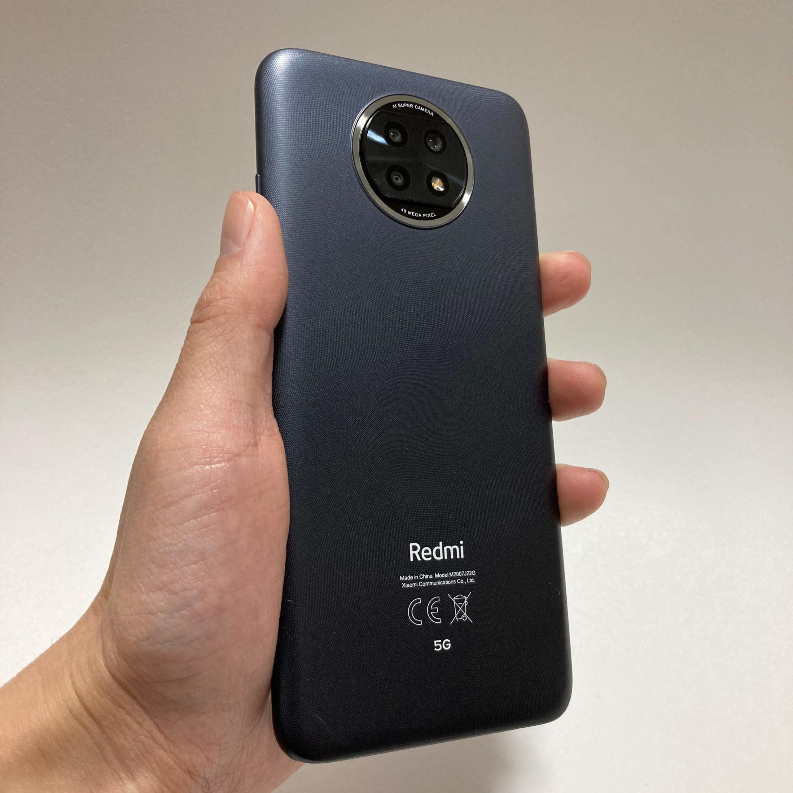 Redmi Note 9Tのサイズ感