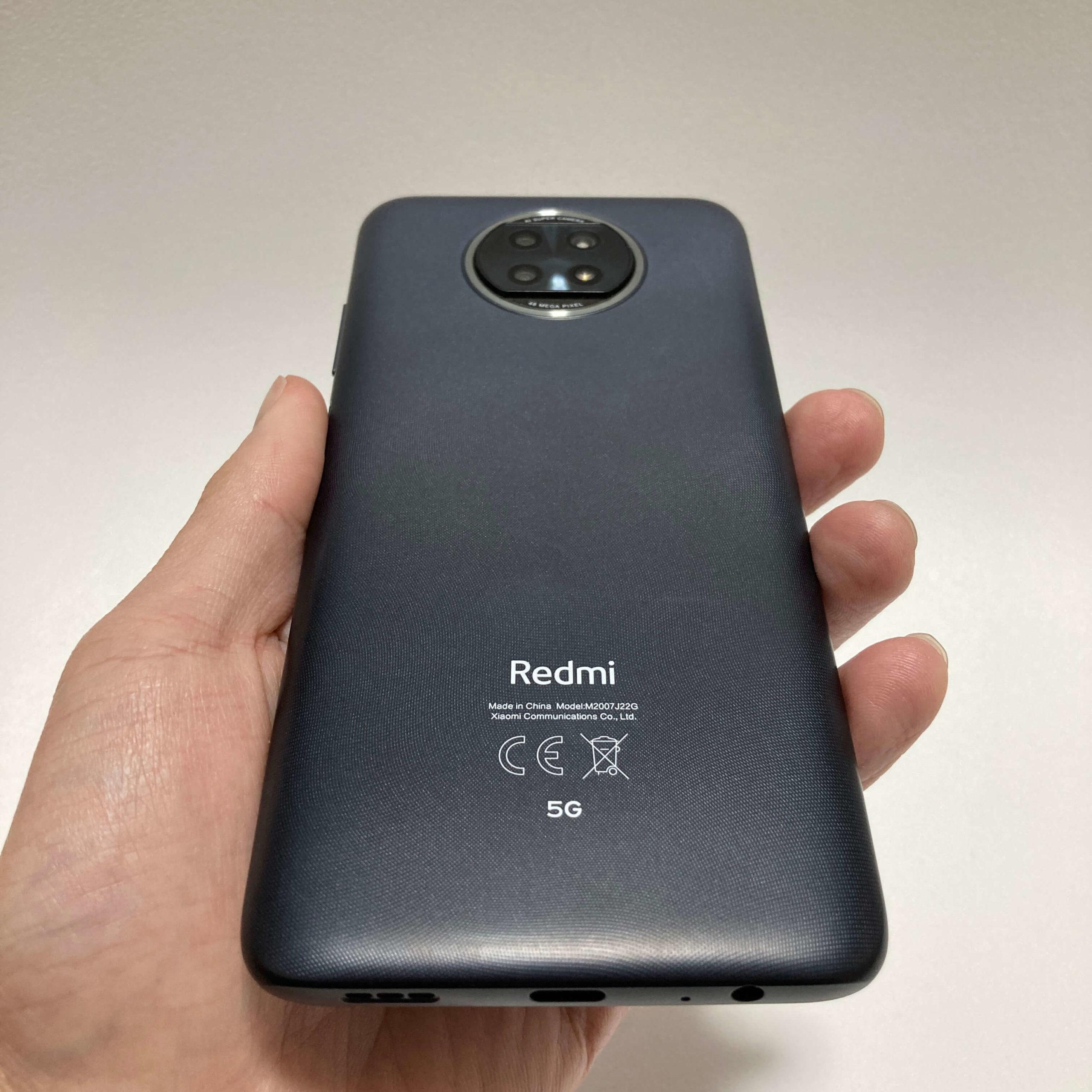 Redmi Note 9Tのデザイン